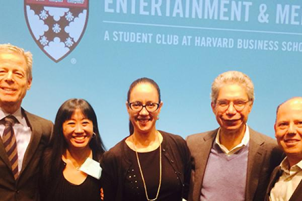 Talking Business and Creativity at Harvard Business School