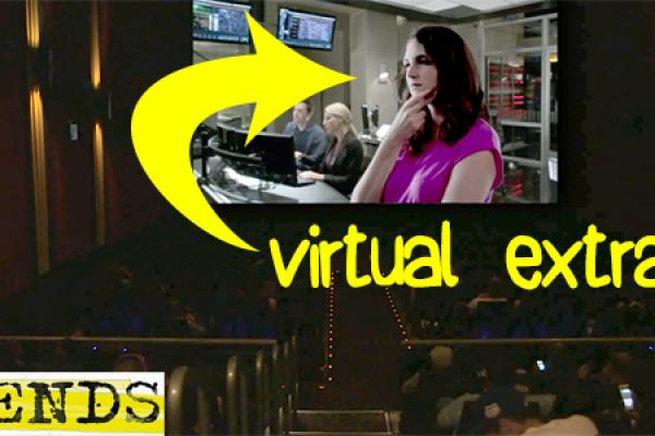 "TNT Makes Moviegoers ""Virtual Extras"""