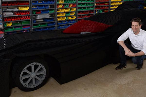 Down Under with LEGO Batmobile
