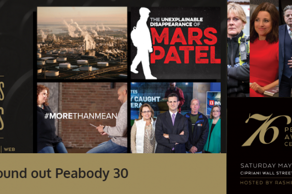 Peabody Awards for CNN, HBO