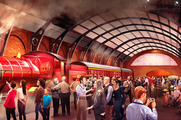Hogwarts Express Pulls Into WB Studio Tour London