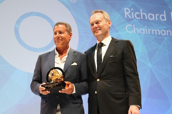 Plepler Honored at Cannes Lions