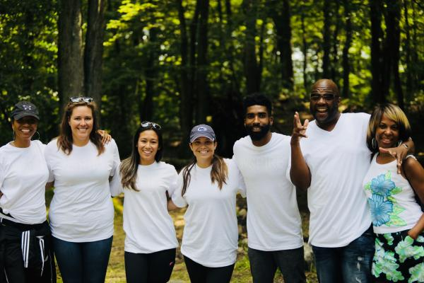 WarnerMedia employees get some fresh air volunteering at NY summer camp