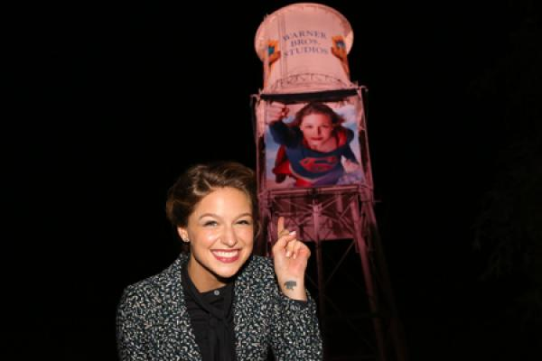 WB Water Tower Gets Super Hero Makeover