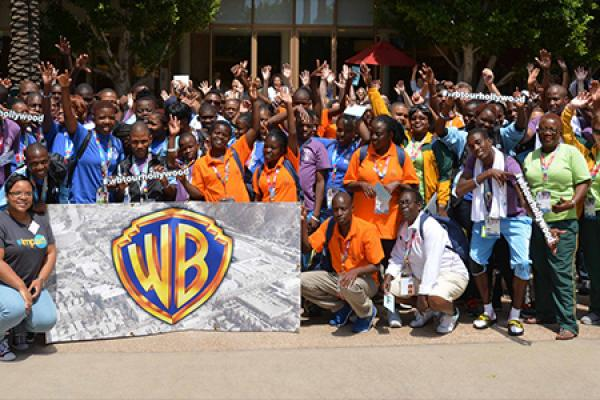 Employees Welcome Special Olympics Teams to Burbank