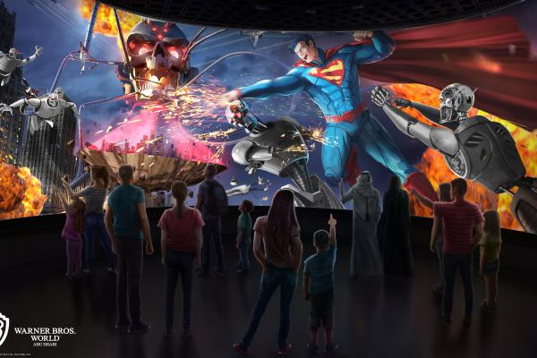 Take a Look at What's Coming to Warner Bros. World Abu Dhabi