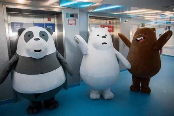 'We Bare Bears' helps Cartoon Network Spain support kids cancer research drive