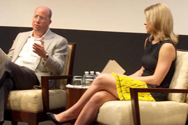 Employees Tune In for Discussion with Jeff Zucker